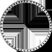 1842 Gulden Stück Münze Silber