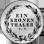 1817 Kronen Taler Silber Münze