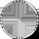 Umrandung Konv Spezies Taler Silber Münze 1813