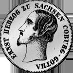 1/6 Reichs Kurant Taler Silber Münze 1848