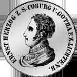 Kronen Silber Taler Münze 1827