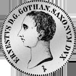 Gulden Stück Silber Münze 1774