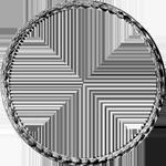 Umschrift Gulden Stück Silber Münze 1774