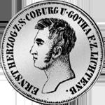 10 Kreuzer Stück Silber Münze 1831