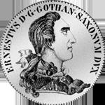 Reichs Taler Silber Münze 15 Talerfuß 1774