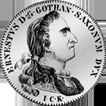 1/2 Reichs Taler Silber Münze Taler Fuß 15 1774