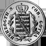 2 Groschen Stück Silber Münze 1841