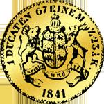 1841 Gold Münze Dukaten