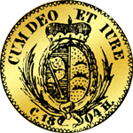 Rückseite Gold Münze Dukaten 1804
