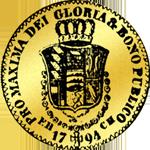 1794 Dukaten Gold Münze