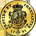 1791 Gold Münze Dukaten