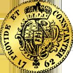 1762 Rückseite Dukaten Gold Münze