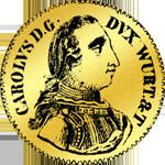 Dukaten Münze Gold 1750