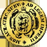 1737 Dukaten Gold Münze