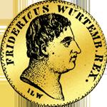 Friedrichsór á 11 Floren 1810 Münze Gold