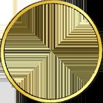 Münze Umrandung Gold Münze Friedrichsdór á 11 Floren