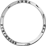 Umschrift 2 Gulden Stück Silber Münze 1824