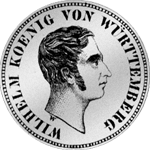 Kronen Taler Silber Münze 1833