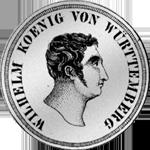 Kronen Taler Silber Münze 1825