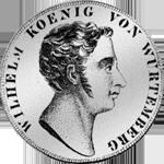 Kronen Taler Münze Silber 1818