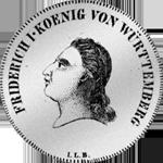 Kronen Taler 1810 Silber Münze