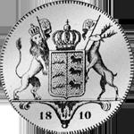 1810 Silber Münze Kronen Taler