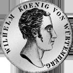 Konventions Münze 1818 Taler Silber
