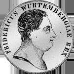 Kronen Taler Münze Silber 1810
