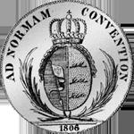 Silber Taler Konventions Münze 1806 Rückseite