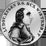 Konventions Spezies Taler Silber Münze 1794