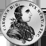 Konventions Spezies Taler Silber Münze 1777