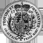 Rückseite Konventions Spezies Taler Silber Münze 1760