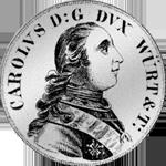 Konventions Spezies Taler Silber Münze 1759