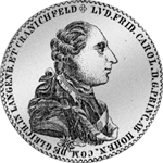 Hohenlohe Konventions Spezies Taler Silber Münze 1785