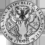 1777 Schwäbisch Hall Konventions Spezies Taler Silber Münze Rückseite