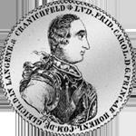1770 Hohenlohe Konventions Spezies Taler Silber Münze 1770