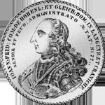 Hohenlohe Konventions Spezies Taler Silber Münze 1760