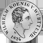 6 Batzen Stück Silber Münze 1824