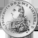 6 Batzen Stück Münze Silber 1798