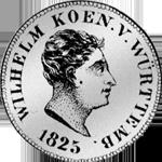 3 Silber Münze Batzen Stück 1825