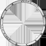 Umschrift 1841 Gulden Stück Münze Silber