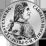 Fürstenberg Konventions Spezies Taler Silber Münze 1804