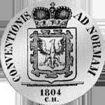 1804 Spezies Taler Silber Münze Konventions Fürstenberg