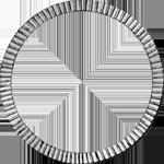 1826 Umschrift Silber Münze RIgsbanks Taler