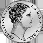 Reichstaler Spezies Münze Silber 1840