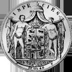 1840 Reichstaler Silber Münze Rückseite Spezies