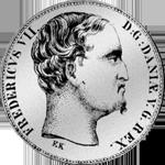 Spezies Reichs Taler Silber Münze 1849