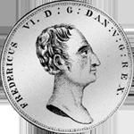 Reistaler Spezies 1824 Münze Silber