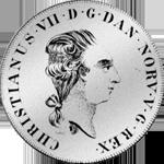 Reichs Taler Spezies 1798 Münze Silber