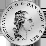 Reichs Taler Münze Silber Spezies 1795